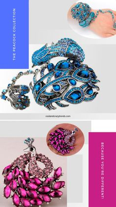 Portents of Nobility, Holiness, Guidance, Protection and Watchfulness Joined Togehter   with Beauty. #peacock bird #peacock art #peacock design #peacock color #peacock gift #peacock pattern #peacock animal #peacock tail #peacock bracelet #peacock ring