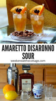 This classic cocktail recipe is a favourite of many. We love AMARETTO DISARONNO SOURS because of their wonderful flavours. What's not to love about a chilled cocktail that's sweet, sour and nutty!