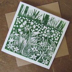 A carpet of ramsons by celiahart on Etsy, £3.00