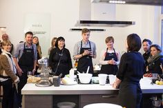 Pressday 2015: Digel Cooking Class and Preview Collection Autumn / Winter 2015