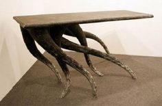 Decorative wooden Furniture – Wood Bench Design by Mirko Mielke