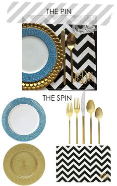 "dinner party goodness ""pin and spin"" by best of brookelyn -- love her blog! www.bestofbklyn.com"
