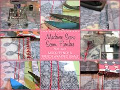 Machine Sewn Seam Finishes - Mock French Seam & French Wrapped Seam - Part 3 of 4 | Sew4Home