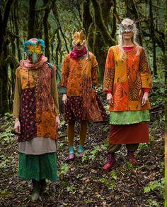 Bohemian Style Clothing, Bohemian Girls, Over 50 Womens Fashion, Boho Fashion, Gudrun, Swedish Fashion, Layered Fashion, Boho Look, Boho Outfits