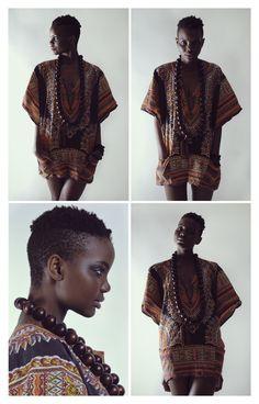 Love this look. You rock Afrikan Queen!