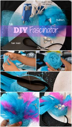 {DIY} How to Make a Fab Fascinator | Thriftanista in the City