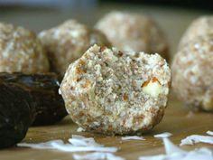 No Bake Coconut Cookie Bites - gluten free, sugar free and dairy free!