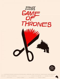 Game of Thrones Stanley Kubrick inspired poster