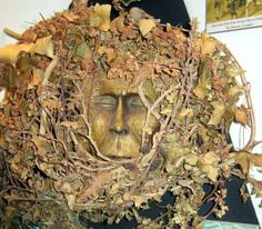 Green man, Witchcraft Museum, Boscastle