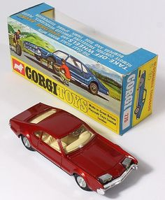 Corgi Toys 276 Oldsmobile Toronado with Golden Jacks Take Off Wheels Pic. credit www.qualitydiecasttoys.com