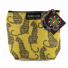 Mongoose Purse Bag. Shop online now at www.GoodiesHub.com Mongoose, Waterproof Fabric, Handbags On Sale, Coin Purse, African, Textiles, Purses, Wallet, Cotton