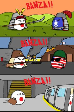 """arrior Spirit  ( Japan )  by Winnable Waffle  #polandball #countryball"