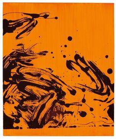 thunderstruck9:  Anselm Reyle (German b. 1970) Ohne Titel 2002. Acrylic on canvas 67 x 56 cm.  #art #abstract #minimal #geometric