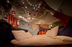 Blanket Fort: perfect for an indoor picnic!