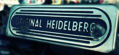 aNEW designs: Visiting The LA Printers Fair. #letterpress #Heidelberg Windmill
