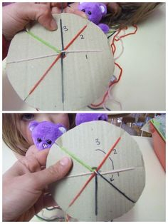 Using a paper plate and some wool, you can make a really cool friendship bracelet. I tried these today at work and my students absolutely it! Easy to do, fun to make for children of all ages :)