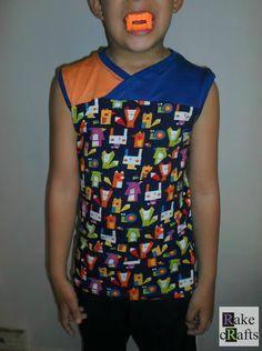 Rake Crafts: Camiseta sin mangas