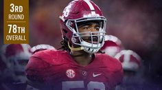 Round 3 (No. 78): Ravens Select Alabama OLB Tim Williams