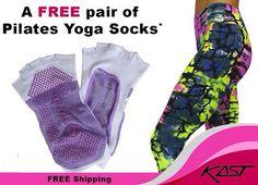 Free Pilates / Yoga socks with every purchase at www.kastaustralia.com - Use promo code - PILATES .