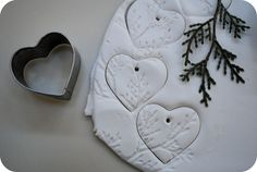 Cute Clay Ornament idea