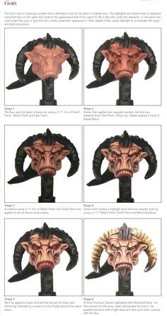 Eavy Metal Monstrous Faces Web Tutorials - Imgur