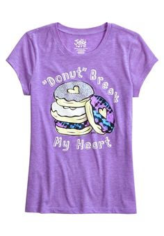 Donut Graphic Tee (original price, $12.00) available at #Justice