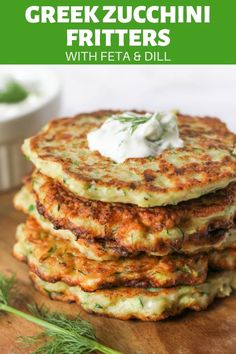 Fritters with Feta and Dill Easy and healthy Greek Zucchini Fritters with Feta and Dill are perfect for a flavourful dinner in a flash.Easy and healthy Greek Zucchini Fritters with Feta and Dill are perfect for a flavourful dinner in a flash. Healthy Weeknight Dinners, Healthy Dinner Recipes, Vegetarian Recipes, Easy Meals, Cooking Recipes, Recipes With Feta, Vegetarian Kids, Healthy Dinner Options, Kid Recipes