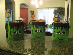 Ligaya's Creativity Zone: Frankenstein Halloween Treat Bag - Just Adorable!