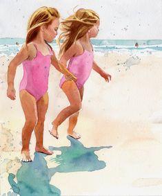 """""""Beach Girls"""" by Rachel Parker"""