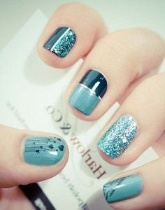 Beautiful Photo Nail Art: 15 photo super easy nail designs beginners