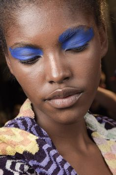 Missoni Spring Summer 2016 Hair And Make-Up Backstage (Vogue.co.uk)