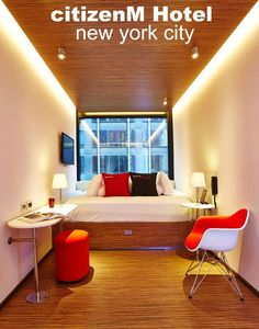 Our review of citizenM Hotel - a great spot to call home when visiting the Big Apple - New York City