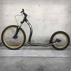 Downhill Bike, Scooter Bike, Kick Scooter, Custom Motorcycles, Custom Bikes, Electric Bicycle, Electric Cars, Push Bikes, Custom Cycles