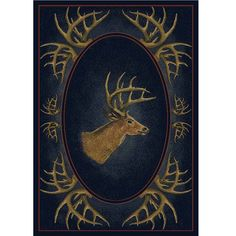 Deer Rug Buck Head
