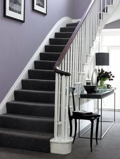 Carpeted stairs idea