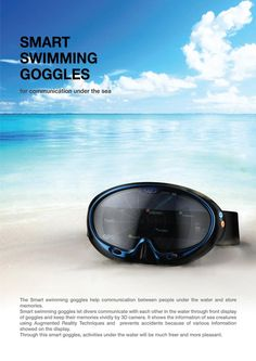 Smart Swimming Goggles With Augmented Reality To Identify Organisms - #technology