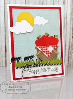 Stamping with a Passion!: Taylored Expressions August Sneak Peeks: Little Bits Picnic Basket and In Other Words - Travel