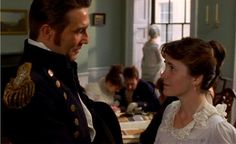 Frederick Wentworth and Anne Elliot (characters from Jane Austin's Persuasion)