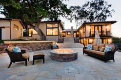 i like this firepit;) i want to do a couple of these surrounding our future pool.