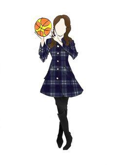 "Duchess of Cambridge Kate Middleton Fashion Pregnancy Print 8.5""x11"" Basketball"