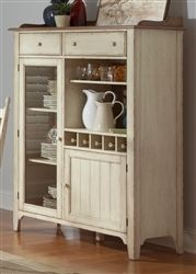 The post Cottage Cove Display Cabinet in Distressed Weathered Ivory & Maple Finish by Liberty Furniture – appeared first on Best Pins for Yours - Diy Home and Decorations Room Furniture, Decor, Home Bar Accessories, Furniture, Repurposed Furniture, Cabinet, Home Furniture, Liberty Furniture, Home Decor