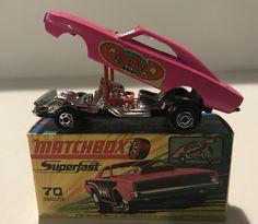1 1971 Made In England By Lesney Gefertigt Nach 1970 Matchbox Superfast Rennwagen Mod Rod No Antikspielzeug