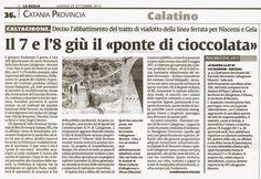 Caltagirone. Deciso l'abbattimento del tratto del viadotto della linea ferrata Niscemi-Gela | Comitato Pendolari Siciliani