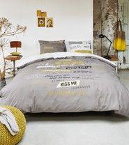 Beddinghouse dekbedovertrek Dreamer yellow