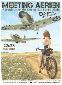 http://lacarpa.tumblr.com/post/22486259485/girls-and-aviation-romain-hugault-illustrator