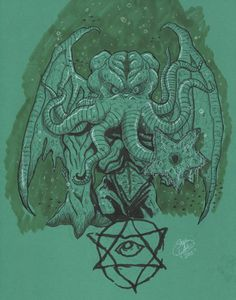 cthulhu by MonsterIslandStudios