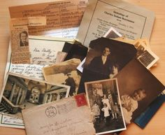 Organizing Your Boxes of Family History Keepsakes