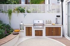 Backyard ideas with grill stone grills design barbecue design ideas grill backyard area station built in grill ideas stone grills stone grills design Outdoor Kitchen Countertops, Outdoor Kitchen Bars, Outdoor Kitchen Design, Patio Design, Built In Braai, Built In Grill, Barbecue Design, Contemporary Garden, Summer Kitchen