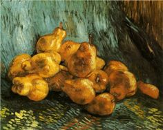 Still Life with Pears - Vincent van Gogh, 1888.