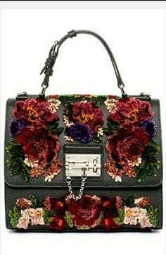 woaaah!! beautifull. colorful embroidered sling.